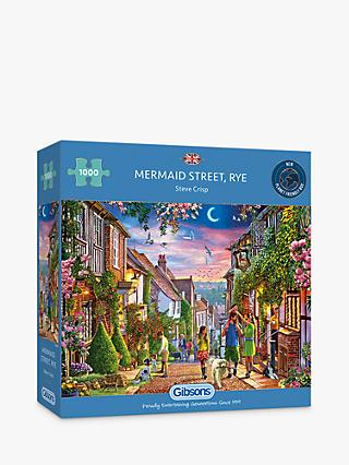 Gibson Mermaid Street Jigsaw Puzzle, 1000 Pieces