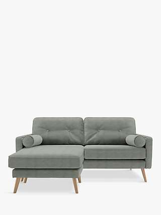 G Plan Vintage The Sixty Five Medium 2 Seater Chaise End Sofa