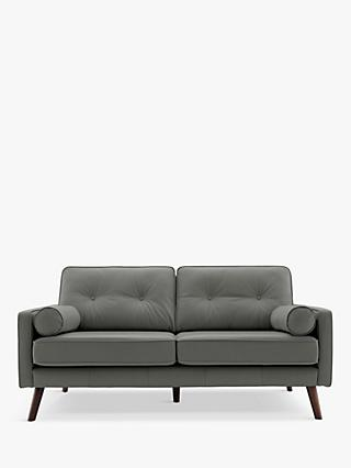 G Plan Vintage The Sixty Five Medium 2 Seater Leather Sofa