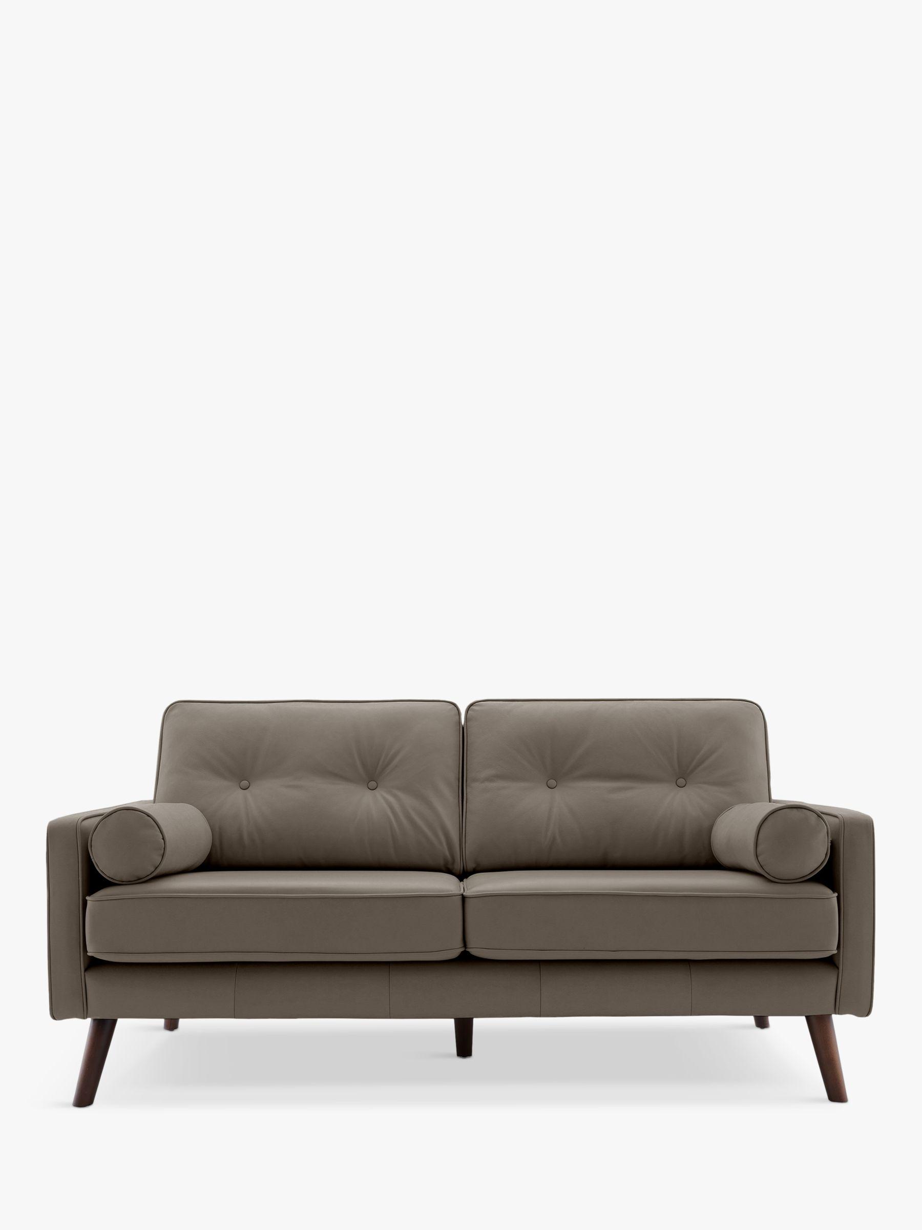 G Plan Vintage G Plan Vintage The Sixty Five Medium 2 Seater Leather Sofa