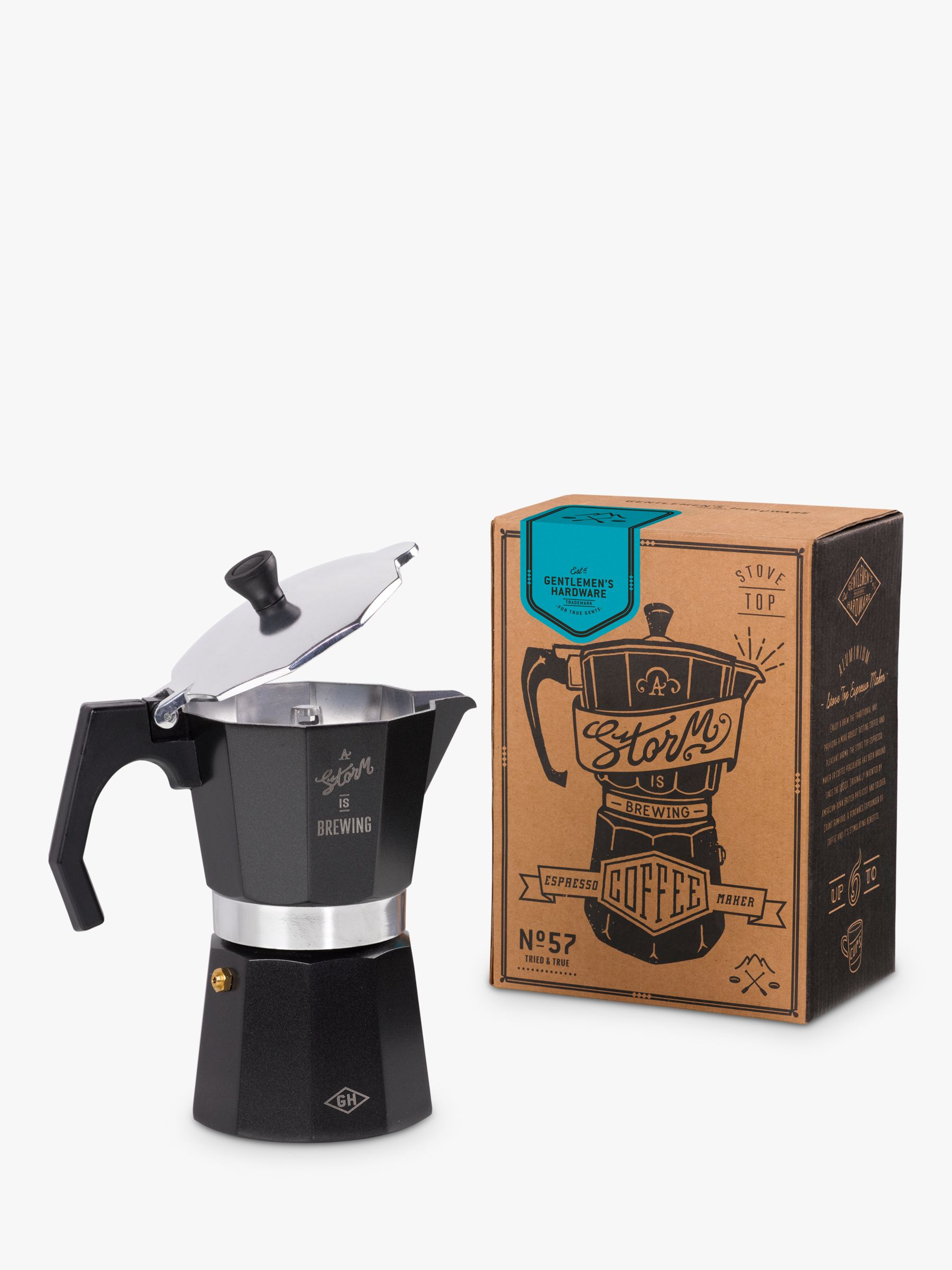 Gentlemen's Hardware Gentlemen's Hardware A Storm is Brewing Coffee Percolator