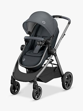Maxi-Cosi Zelia Pushchair, Essential Graphite and Maxi-Cosi CabrioFix Car Seat, Essential Graphite bundle