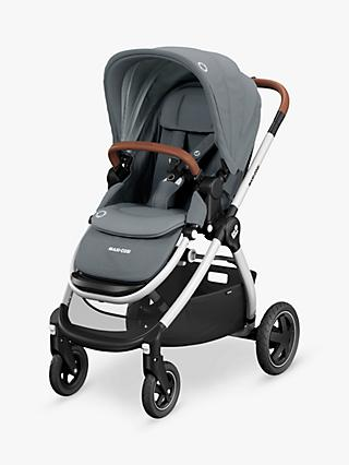Maxi-Cosi Adorra Pushchair, Essential Grey and Maxi-Cosi CabrioFix Car Seat, Essential Graphite bundle