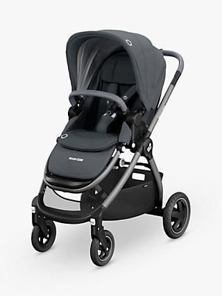 Maxi-Cosi Adorra Pushchair, Essential Graphite and Maxi-Cosi CabrioFix Car Seat, Essential Graphite bundle
