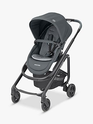 Maxi-Cosi Lila SP Pushchair, Essential Graphite and Maxi-Cosi CabrioFix Car Seat, Essential Graphite bundle