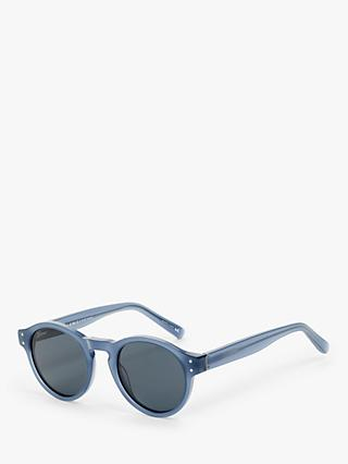 John Lewis & Partners Bio Based Acetate Round Sunglasses