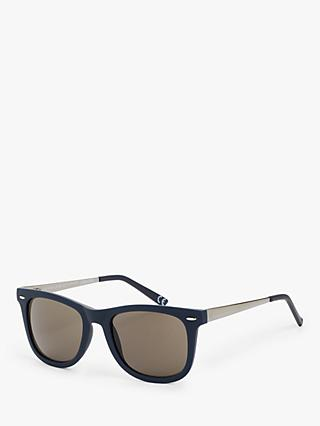 John Lewis & Partners Rubberised Wayfarer Sunglasses