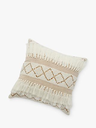 Anthropologie Tulum Cushion, Cream