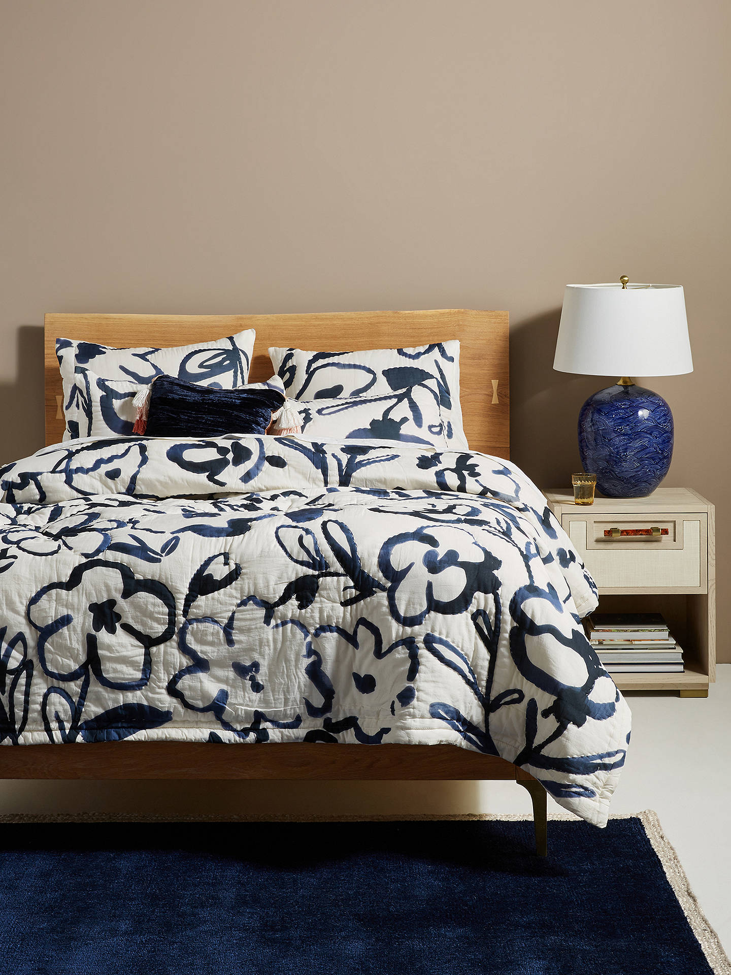 Anthropologie Adare Quilted Bedspread