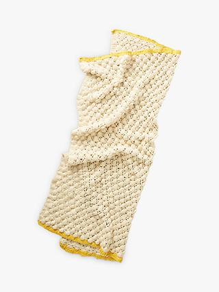 Anthropologie Bauable Throw, Neutral / Ochre