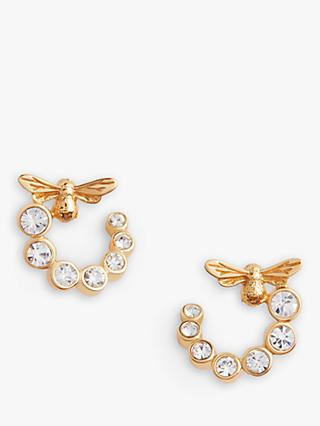 Olivia Burton Bee Hoop Earrings, Gold OBJAME161N