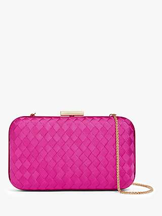 John Lewis & Partners Weaved Clutch Bag