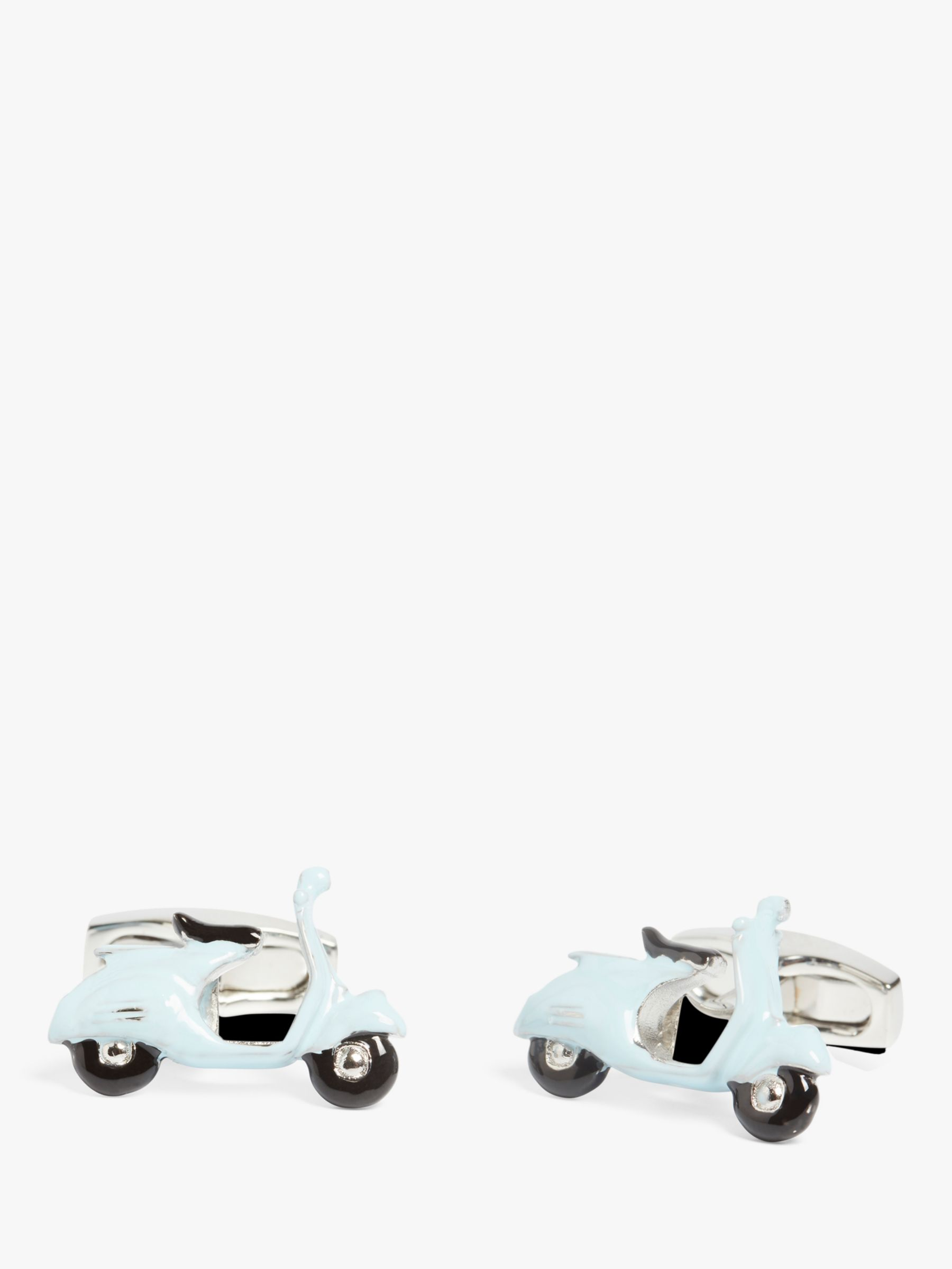 Simon Carter Simon Carter Vespa Cufflinks, Silver/Blue