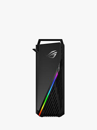 ASUS ROG STRIX G15DH-UK012T Gaming PC, AMD Ryzen 5 Processor, 8GB RAM, 1TB HDD + 256GB SSD, GeForce GTX 1660, Star Black
