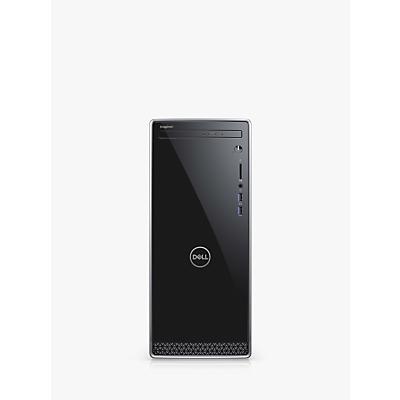 Image of Dell Inspiron Desktop PC, Intel Core i3 Processor, 8GB RAM. 1TB HDD, Black with Silver Trim