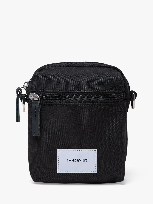 Sandqvist Sandqvist Sixten Cross Body Shoulder Bag, Black