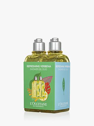 L'Occitane Refreshing Verbena Shower Gel Duo Limited Edition Bodycare Gift Set