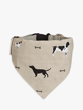 Sophie Allport Woof Dog Neckerchief, Small