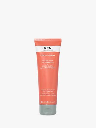 REN Perfect Canvas Clean Jelly Oil Cleanser, 100ml