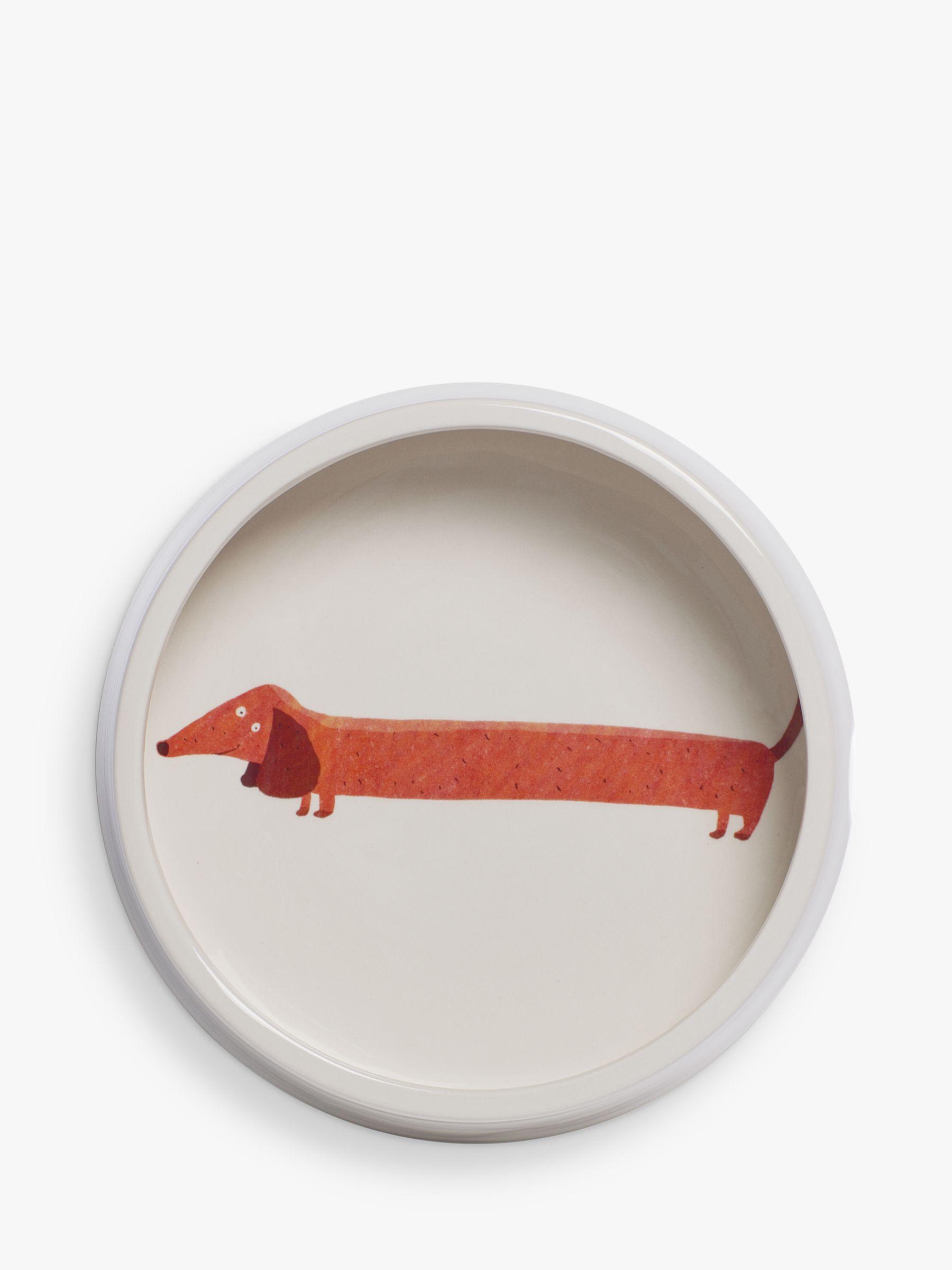 Fenella Smith Dachshund Dog Food Bowl