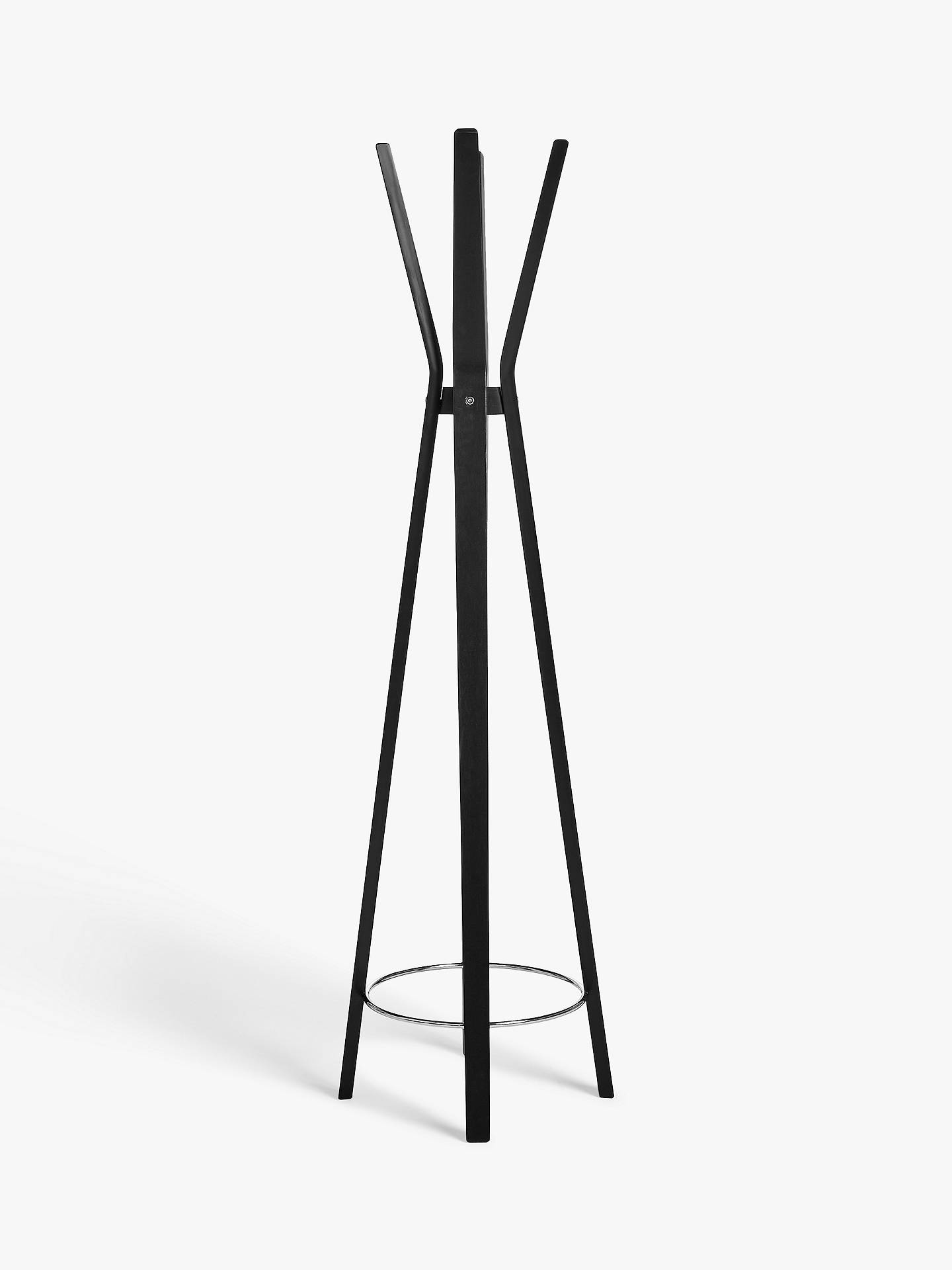 House by John Lewis Coat Stand, Black