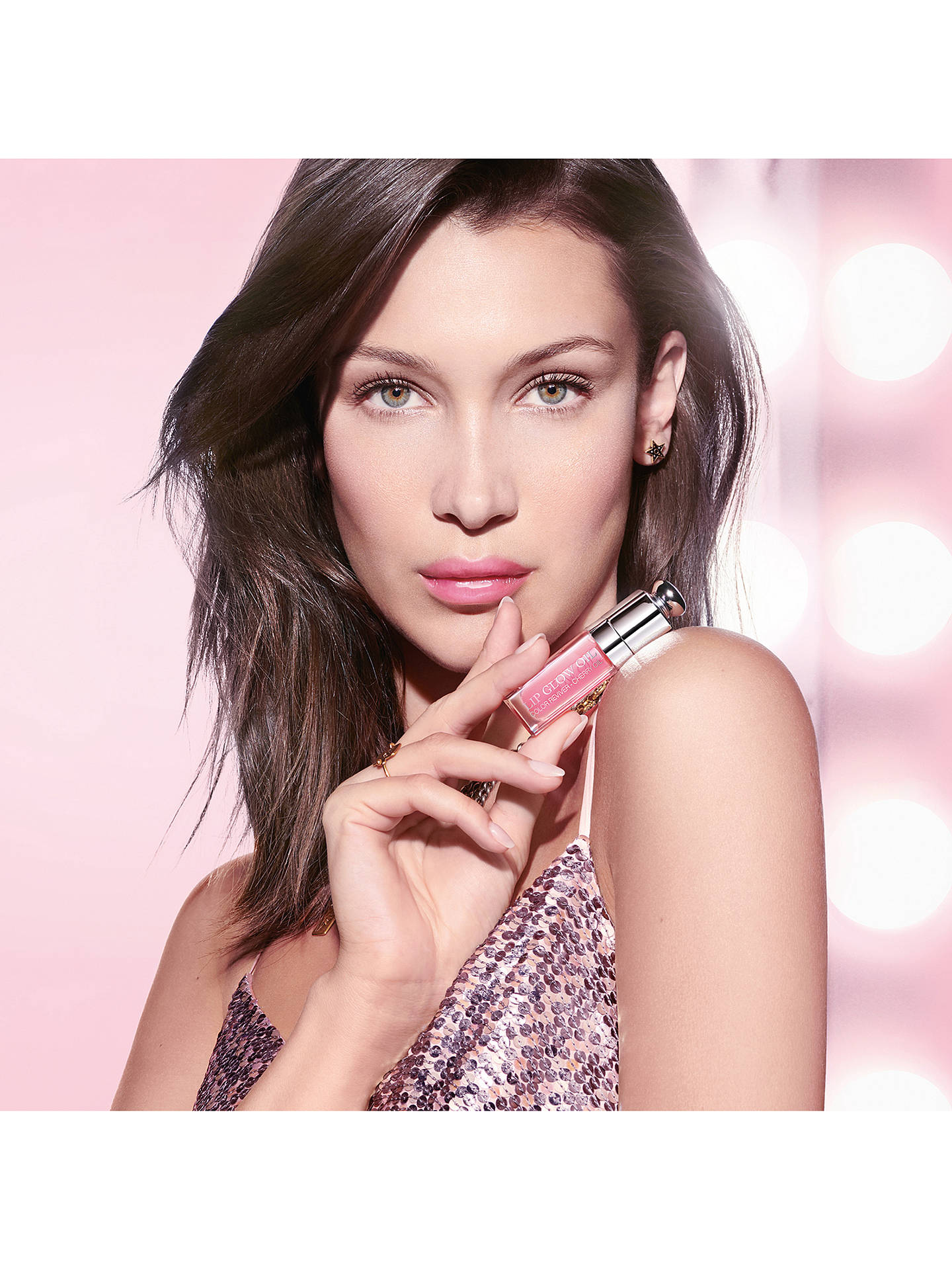 Buy Dior Addict Lip Glow Oil, 001 Pink Online at johnlewis.com