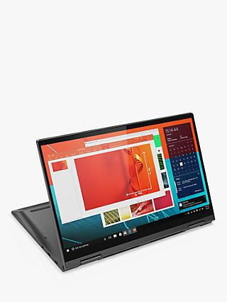 "Lenovo YOGA C740-14IML Convertible Laptop, Intel Core i7 Processor, 8GB RAM, 512GB SSD, 14"", Iron Grey"