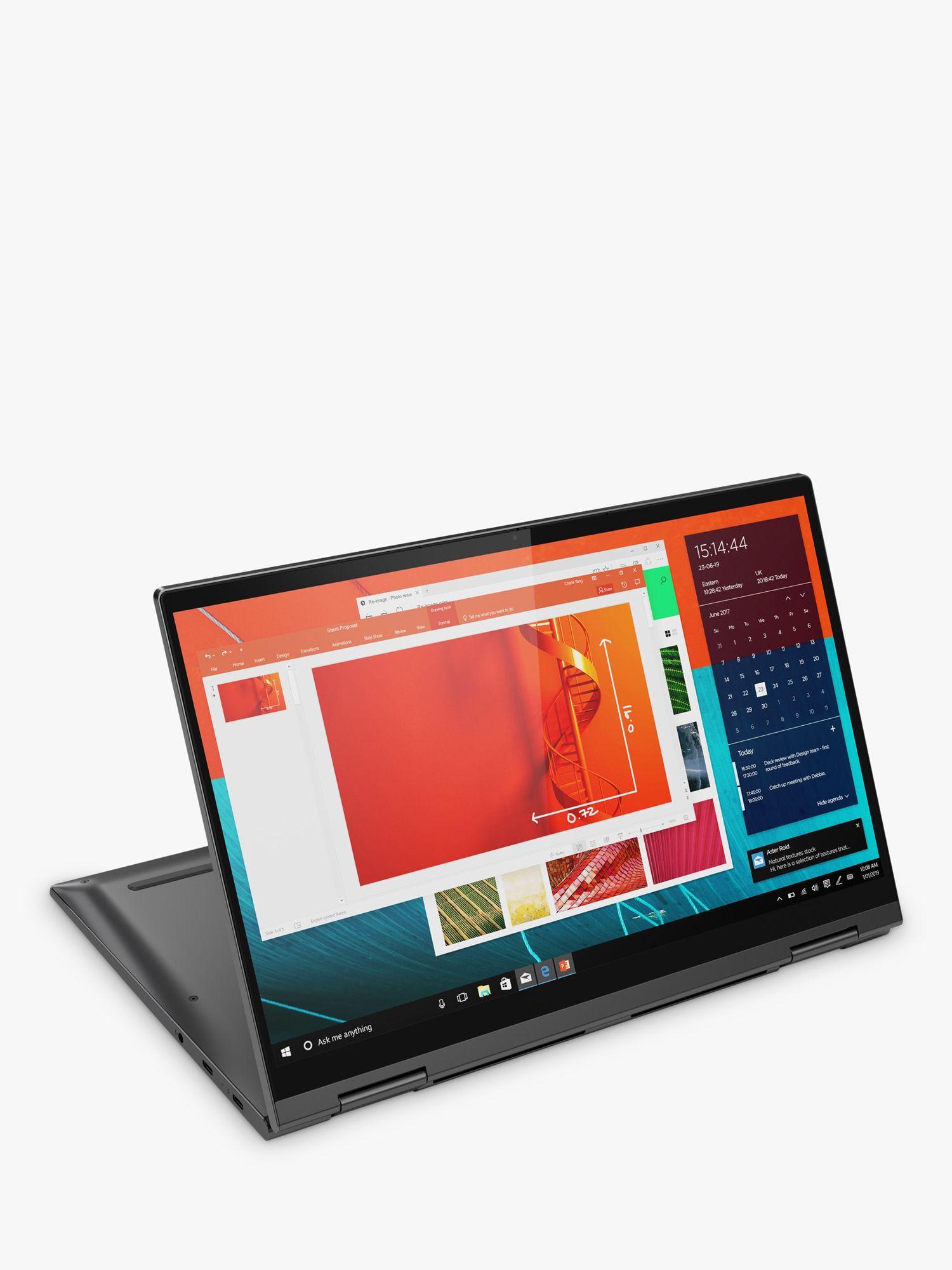 Lenovo Lenovo YOGA C740-14IML Convertible Laptop, Intel Core i5 Processor, 8GB RAM, 256GB SSD, 14, Iron Grey