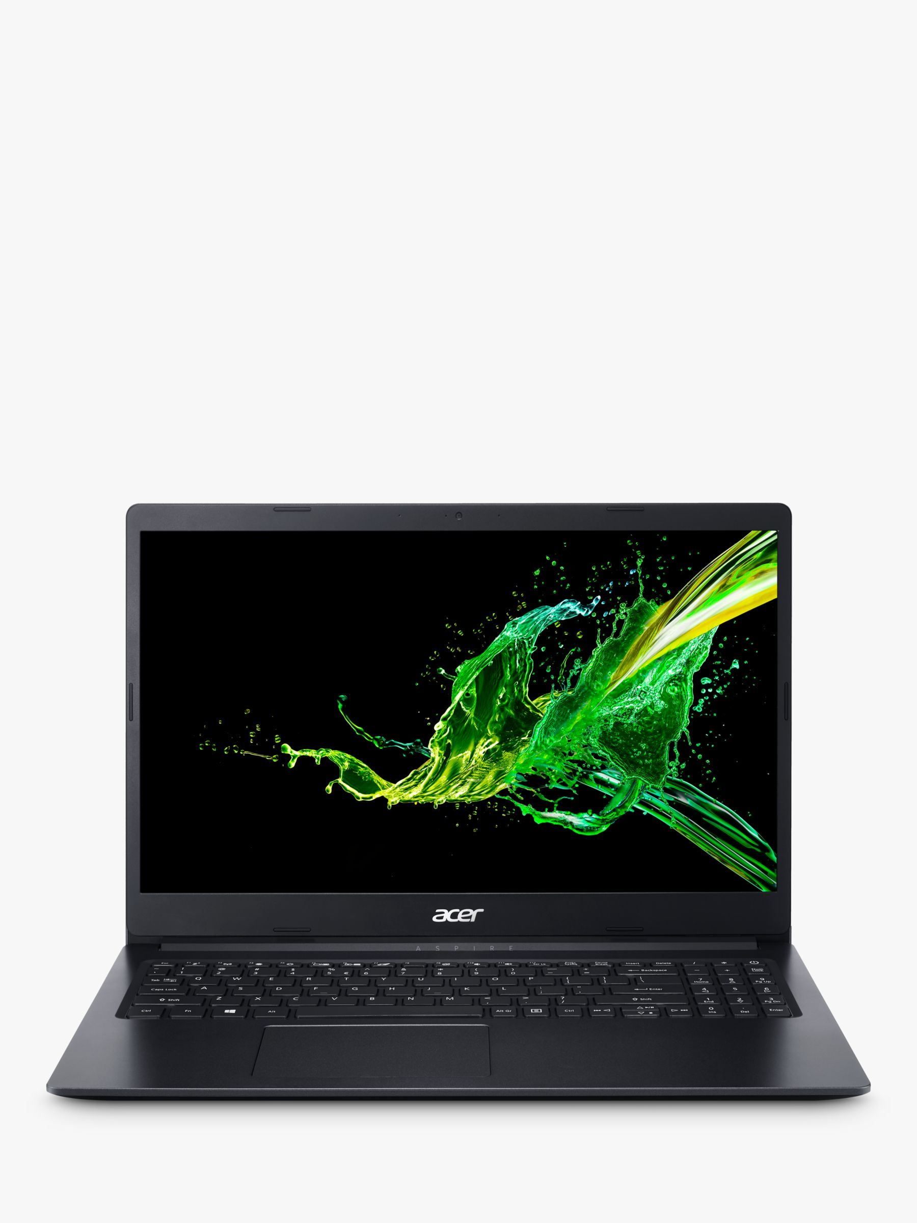 Acer Acer Aspire 3 Laptop, Intel Pentium Processor, 4GB RAM, 128GB SSD, 15.6, Black