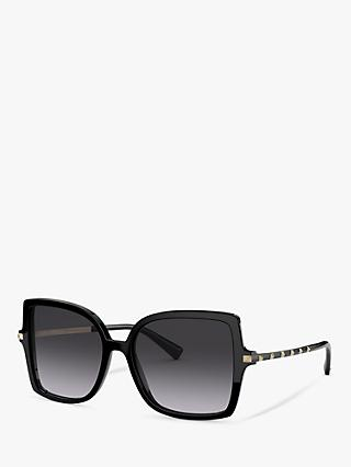 Valentino VA4072 Women's Statement Square Sunglasses
