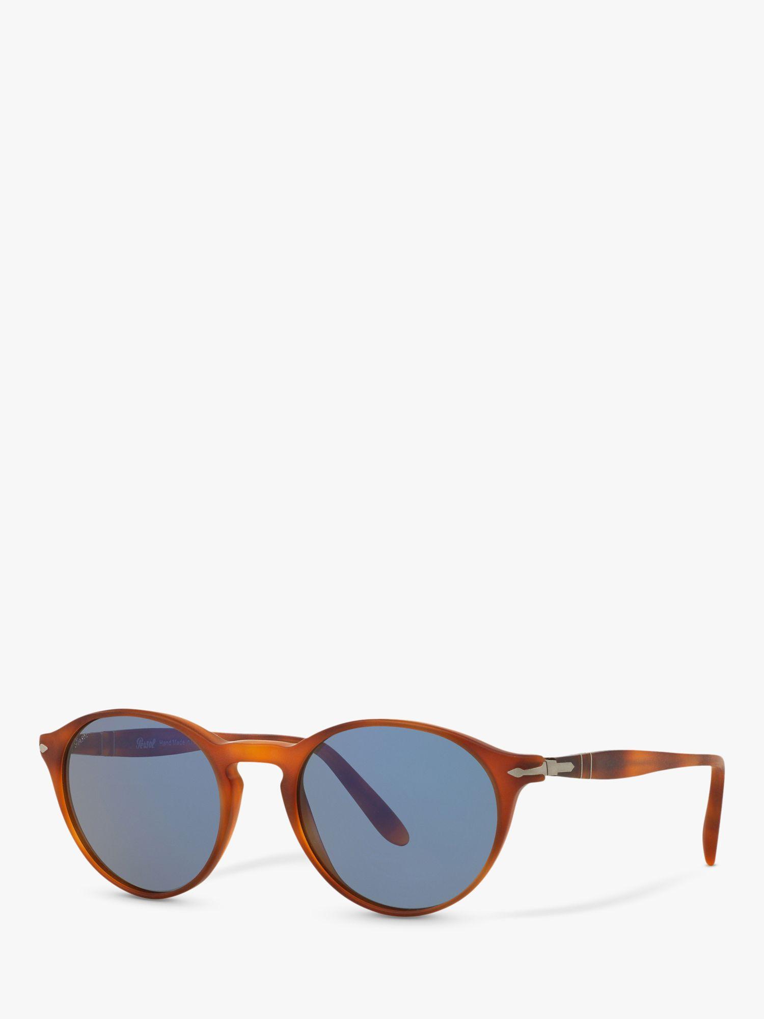 Persol Persol PO3092SM Round Sunglasses, Terra Di Siena