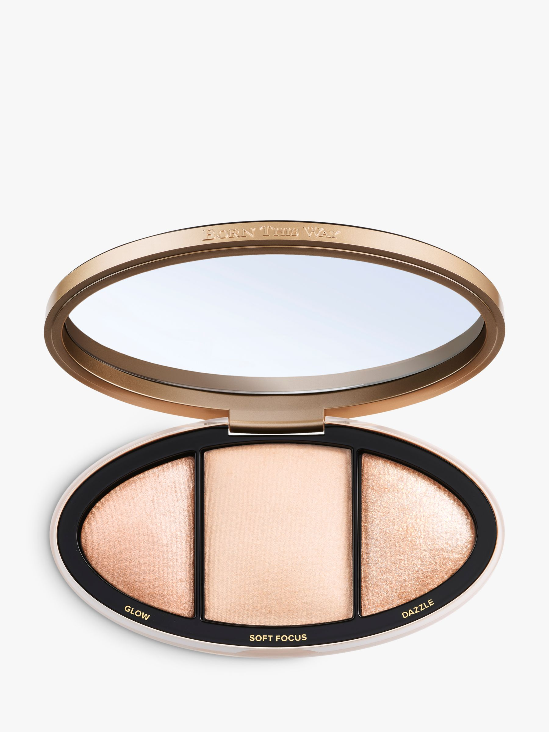 Buy Too Faced Born This Way Turn Up The Light Highlighting Palette, Fair to Light Online at johnlewis.com