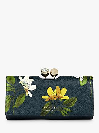 Ted Baker Abbeyyy Savanna Leather Bobble Matinee Purse, Navy
