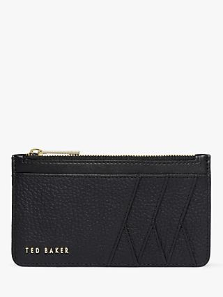 Ted Baker Alexaa Leather Zip Card Holder