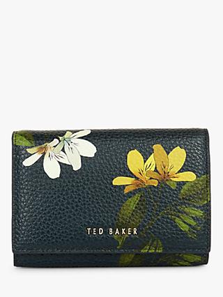 Ted Baker Amelii Savanna Leather Mini Purse, Navy