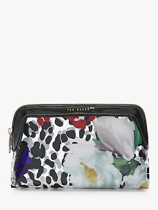 Ted Baker Anesa Wilderness Small Wash Bag, Clear
