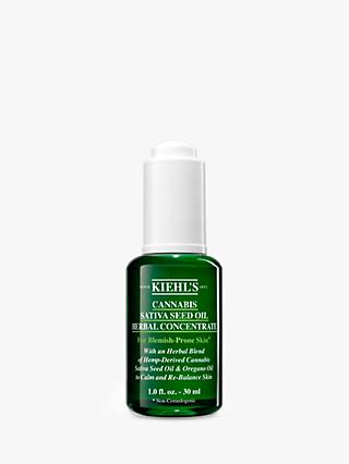 Kiehl's Cannabis Sativa Seed Oil Herbal Concentrate, 30ml