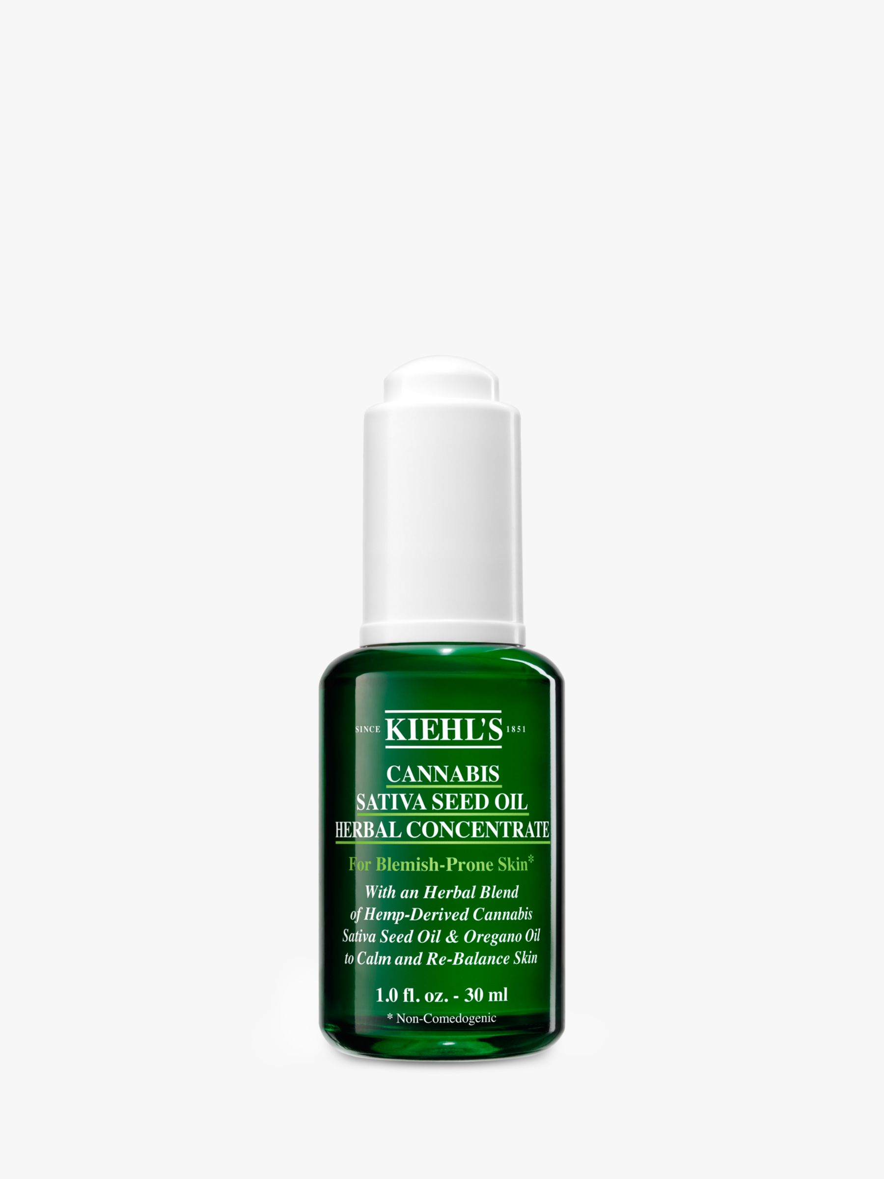 Kiehls Kiehl's Cannabis Sativa Seed Oil Herbal Concentrate, 30ml