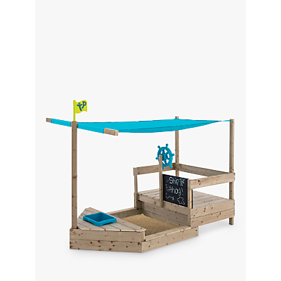TP Toys 2 In 1 Wooden Sailing Boat Frame