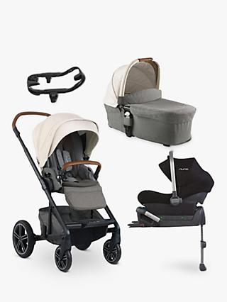 Nuna Mixx 5 Piece Pushchair and Carrycot Bundle, Birch