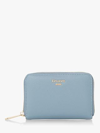 Dune Karingg Zip Around Purse, Blue