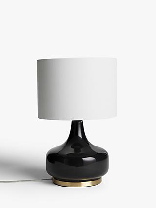 John Lewis & Partners Atley Glass Table Lamp