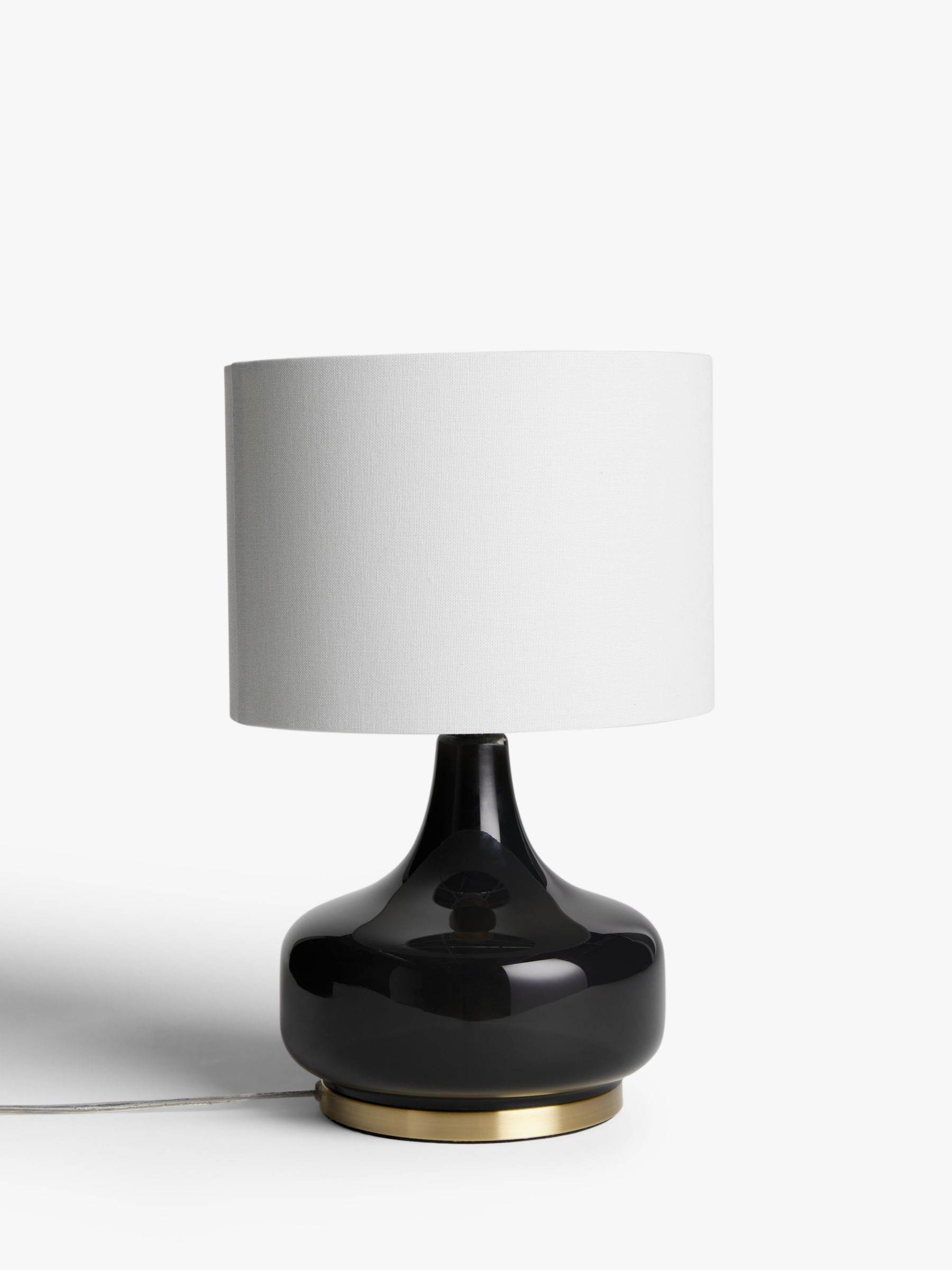 Picture of: John Lewis Partners Atley Glass Table Lamp At John Lewis Partners