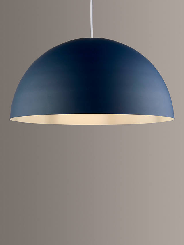 John Lewis Partners Large Dome Metal Easy To Fit Ceiling Shade