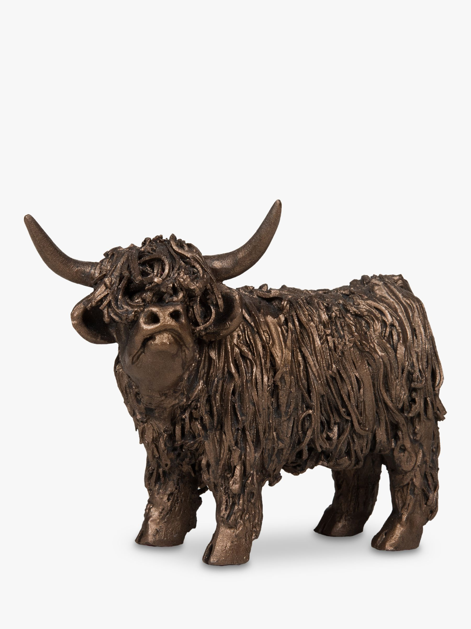 Frith Sculpture Frith Sculpture Highland Cow Sculpture, Bronze