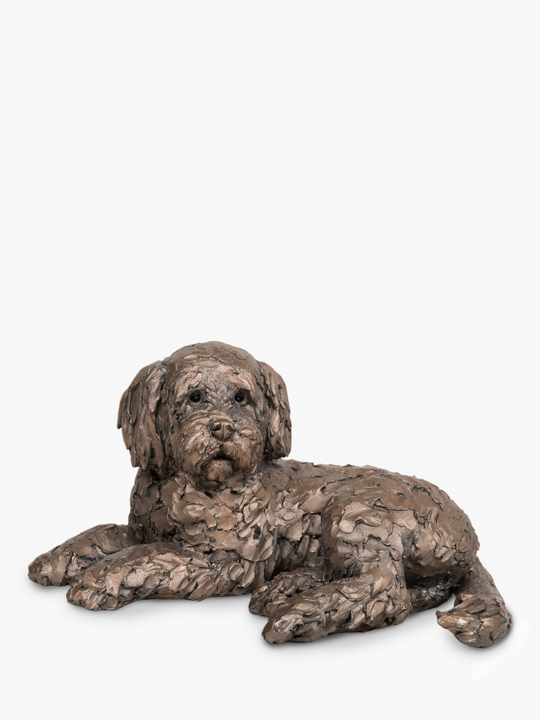 Frith Sculpture Frith Sculpture Ozzy Labradoodle Sculpture, Bronze