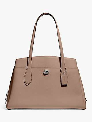 Coach Lora Leather Carryall Tote Bag