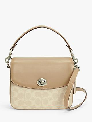 Coach Cassie 19 Cross Body Bag, Taupe