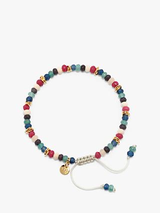 Lola Rose Apsley Beaded Bracelet, Multi Quartzite