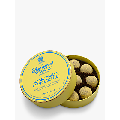 Charbonnel et Walker Sea Salt Banana Caramel Chocolate Truffles 120g